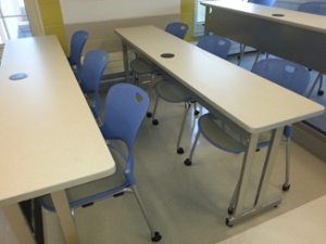 Another example of the Tilley 304 classroom setup